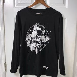 Large Chemistry Astronaut shirt